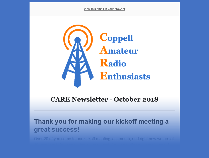 care-newsletter